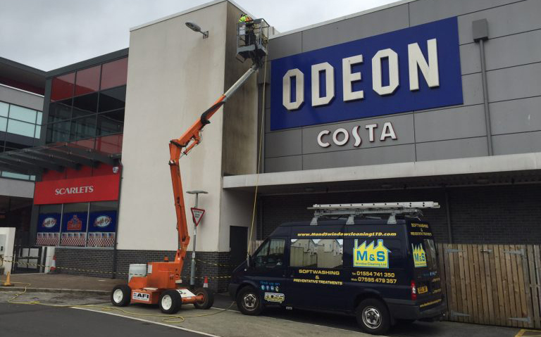 Render Cleaning Llanelli Wales