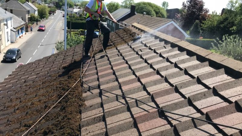 roof cleaners swansea