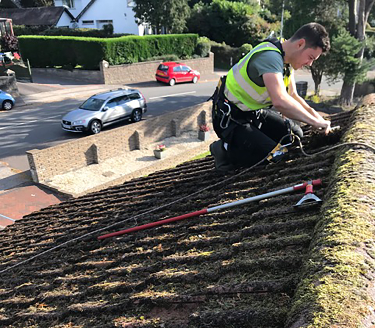 roof cleaning company swansea