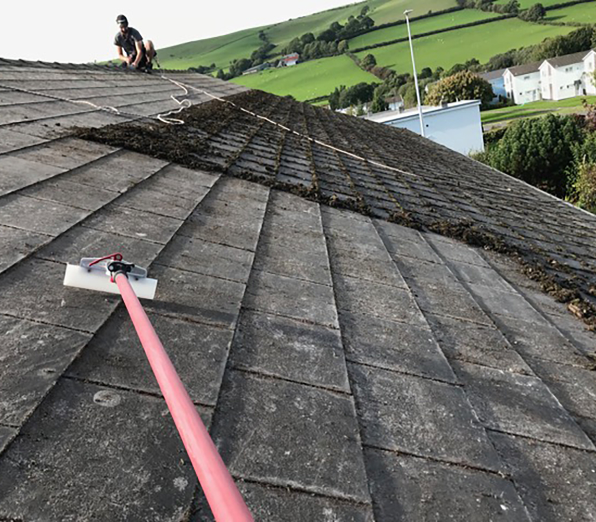 roof cleaning company throughout swansea
